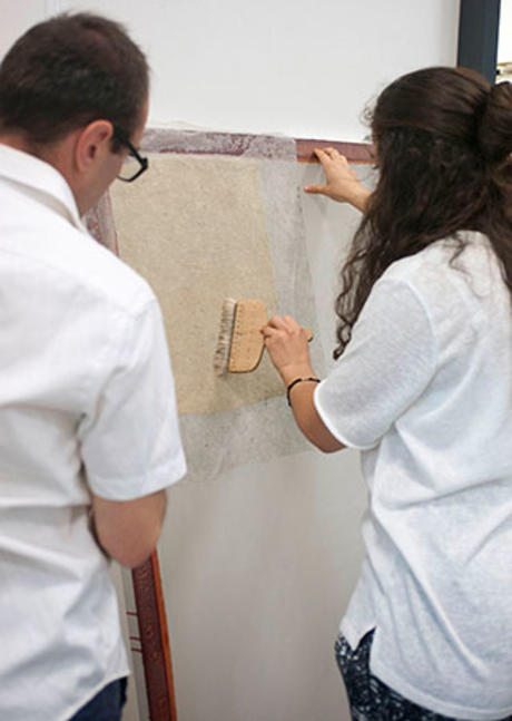 Come and study in the department of heritage conservators