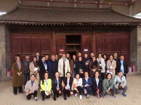 From Aubervilliers to Xi'An: a new field-school for our student conservators in China